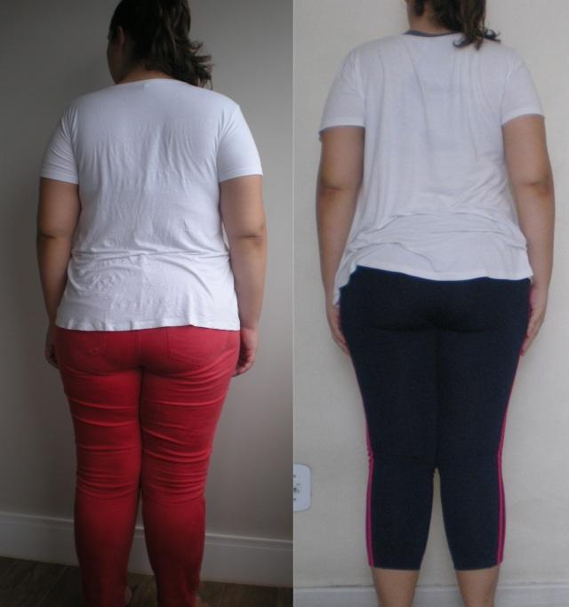 Antes & Depois 2 meses costas