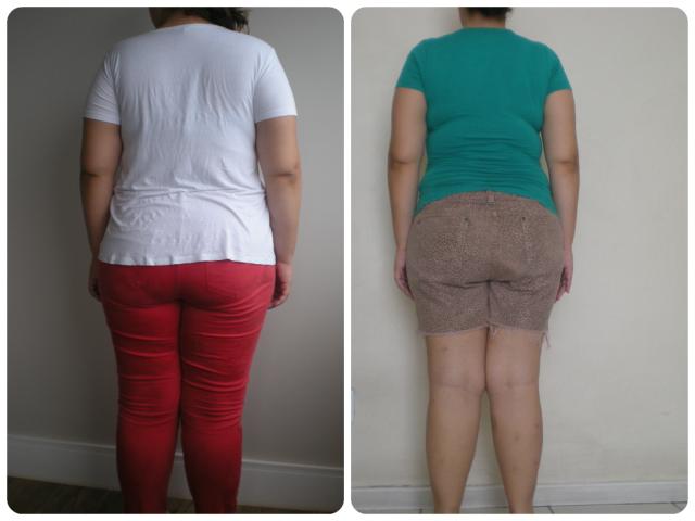 Antes & Depois 3 meses costas