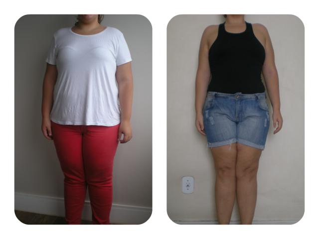 Antes & Depois 4 meses frente